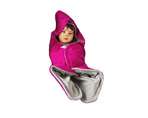 SWADDYL Baby blanket swaddle wrap travel blanket, sleeping, bunting bag, Multi-use Infant Toddler 0-5 months OEKO-TEX certified Made in Europe cosy quality (pink)  - MULTI-USE: Swaddle, wrap, receiving blanket for Stroller, buggy, baby bouncers, cuddle, travel, playing mat for toddlers up to 5 months for cold mornings, chilly summer, fall or spring days. 65x65 cm Perfect for travelling.  - QUALITY: Premium quality, double sided with filling,100% cotton on one side, OEKO-TEX 100 certifi...