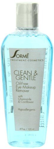 17% Off was $15.99, now is $13.26! Sorme Cosmetics Natural Oil Free Makeup Remover, 4 Ounce