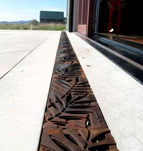 Top 25 best drainage grates ideas on pinterest for Driveway trench drain