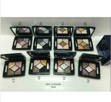 Dior makeup cosmetics 5-color eyeshadow 4PCS