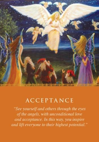 Oracle Card Acceptance | Doreen Virtue | official Angel Therapy Web site