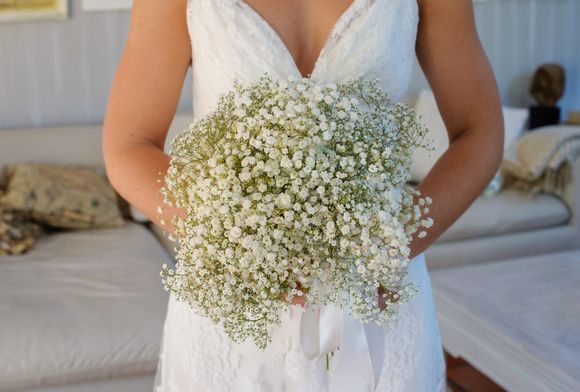 Baby's breath bouquet - Wedding Floral Stylist Perth and Brisbane