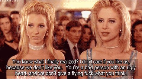 Whatever the other person does, you don't judge it. | 23 Things Close Female Friends Just Get