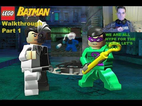Lego Batman: The Videogame Walkthrough Part 1