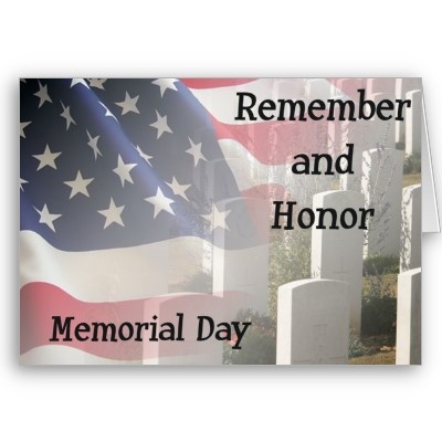 Between the beers and the burgers, let's not forget WHY it is Memorial Day! Thank you to all who have served....
