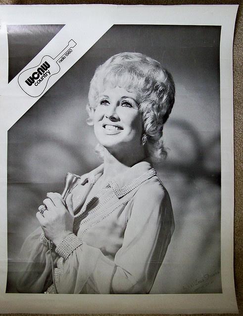 1970s 1560 WCNW radio BONNIE LOU promo poster by CINCINNATI TV & RADIO HISTORY, via Flickr