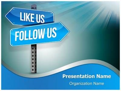 Check out our professionally designed Like and Follow PPT template. Download our Like and Follow PowerPoint presentation affordably and quickly now. Get started for your next PowerPoint presentation with our Like and Follow editable ppt template. This royalty free Like and Follow #Powerpoint #template lets you to edit text and values and is being used very aptly for Like and Follow, social media, collection, #destination, #direction, #discussion, #finance and such PowerPoint presentation.