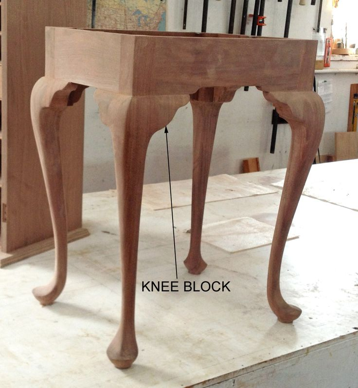 Cabriole legs_finished base