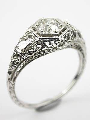 Bird Engagement Ring