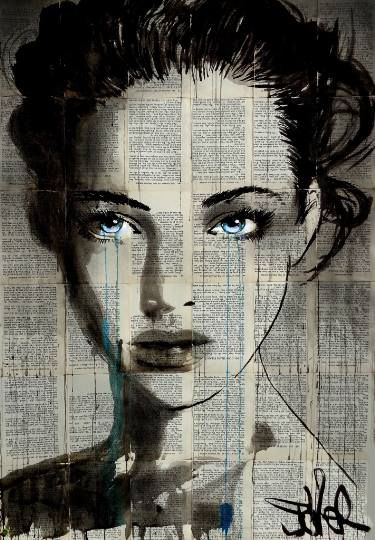 "Saatchi Art Artist LOUI JOVER; Drawing, ""prim"" #art"