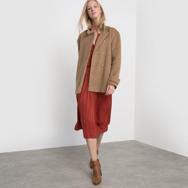 Image Krótki płaszcz ze stójką atelier R