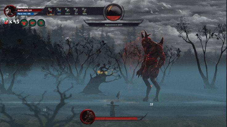Vampire vs Abadderon!