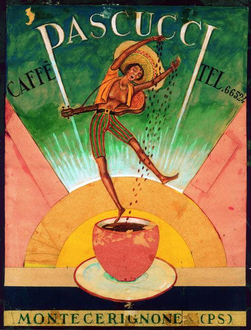 Canzio Bardozzi 1959 opera in colla e cartone