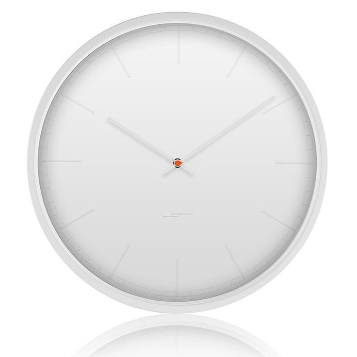 top3 by design - Leff - Wiebe Teertstra - leff wall clock tone white