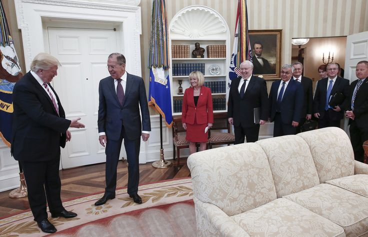 The press was not allowed into an Oval Office session between President Trump and Sergey V. Lavrov. Then the official Russian news agency published pictures of the event.