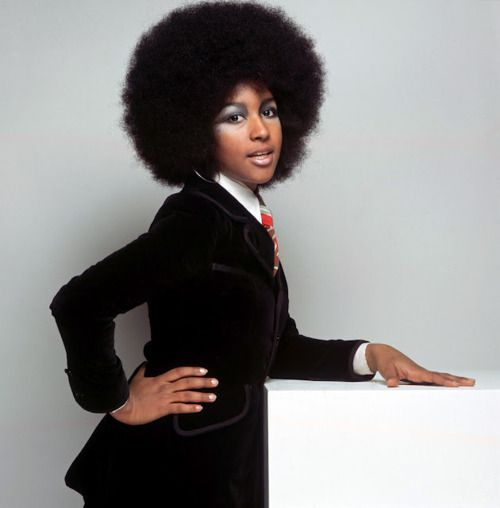 Vintage Beauty Marsha Hunt….When Black Became Beautiful.    Though born in America, Marsha A. Hunt found fame and success in Europe. She first caught the public's eye in the London stage production of Hair where her striking appearance lead to fashion modeling (including British Vogue) and her singing voice lead to studio and on-stage backup singing!   Credit: Femmesfantastique.blogspot.com