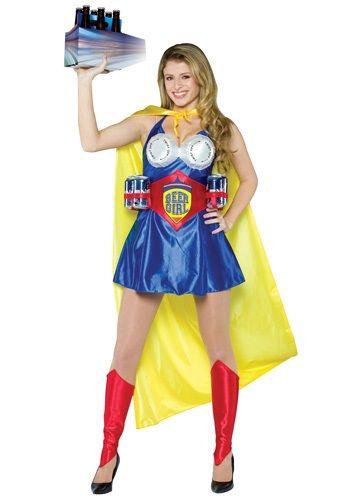 Adult Beer Girl Costume #halloween #adult #funny