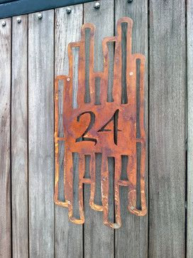 Address Plaques - asian - house numbers - san diego - Moda Industria