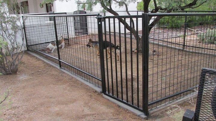 Custom Dog Runs Best Quality Dog Runs Installed In