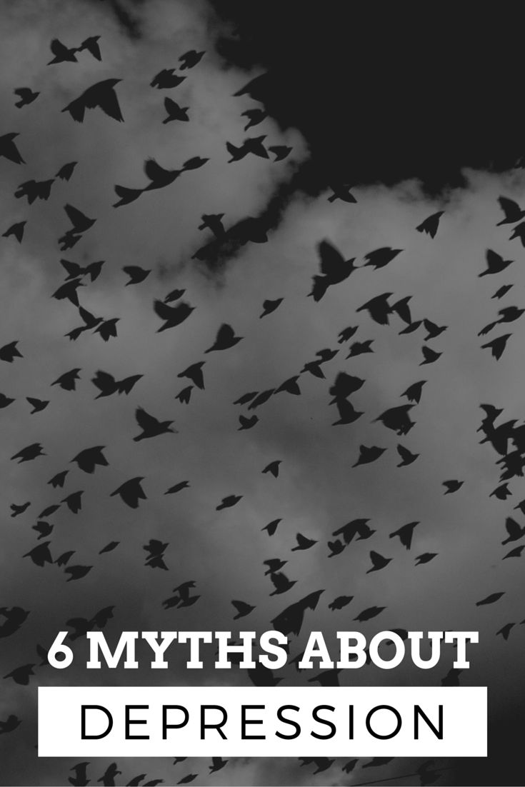 6 Myths About Depression  #myths #depression #psychology #ego #therapy #selfhelp #coaching #selfgrowth #health
