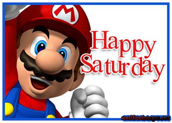 Happy Saturday Clip Art
