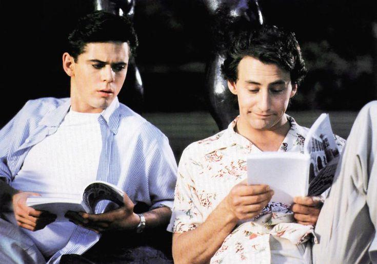 SOUL MAN, from left: C. thomas Howell, Arye Gross, 1986 | Essential Film Stars, Arye Gross http://gay-themed-films.com/film-stars-arye-gross/