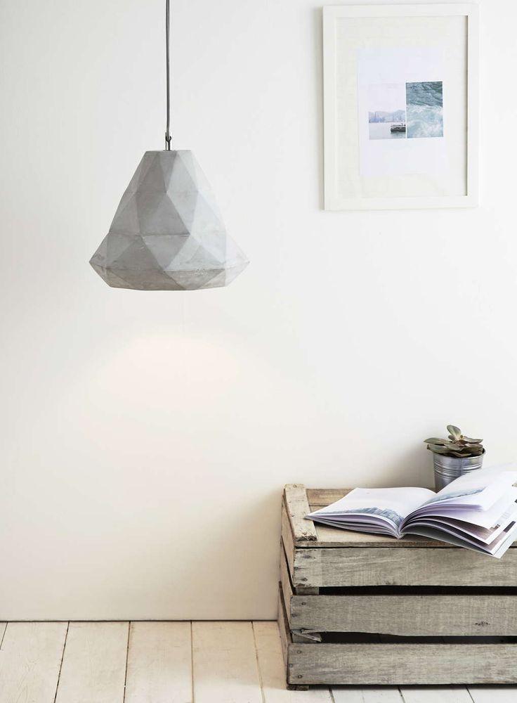 Grey Aero Pendant Light from bhs
