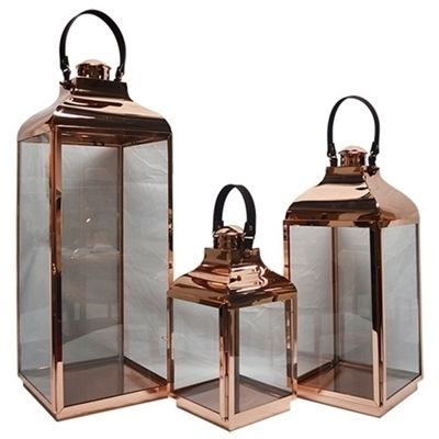Lanternas Decorativas Cobre