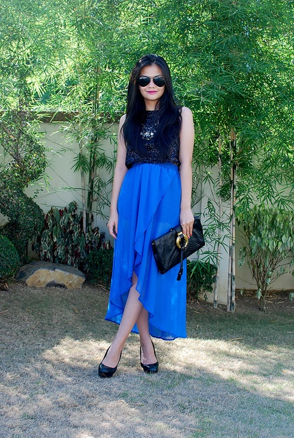 Cool in blue!  Vern Enciso with a top from SOUL