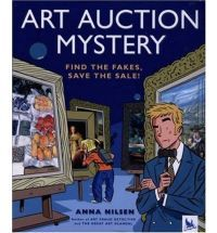 Sixteen famous paintings from collections around the world have been stolen and replaced with clever forgeries. Now these fake paintings are going up for auction, and the reader has all the clues to figure out which paintings are real and which are fakes. Illustrations.