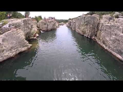 Cascade du Sautadet - YouTube