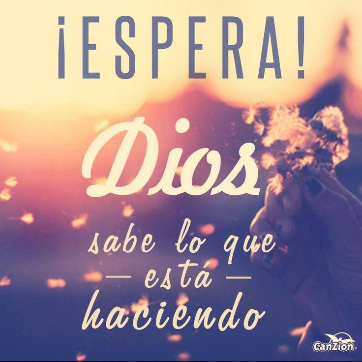 Espera en Dios :) /Frases ♥ Cristianas ♥