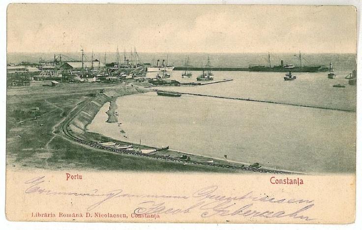 Constanta - Portul - 1902