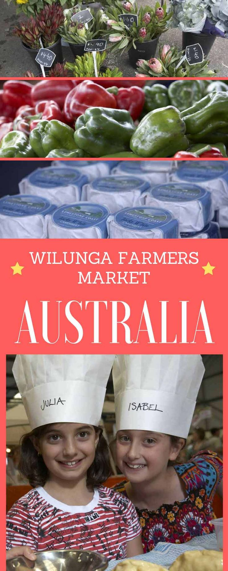 Wilunga Farmers Market in South Australia. Anyone who lives in South Australia will tell you that one of the best farmer's markets is located in the historic town of Willunga, 47 kilometres south of Adelaide in the Fleurieu Peninsula's McLaren Vale wine region.