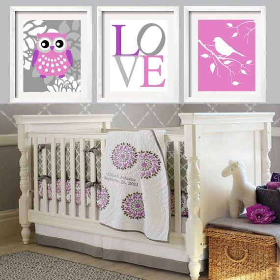 12 Best Pottery Barn Purple Nursery Images On Pinterest Baby