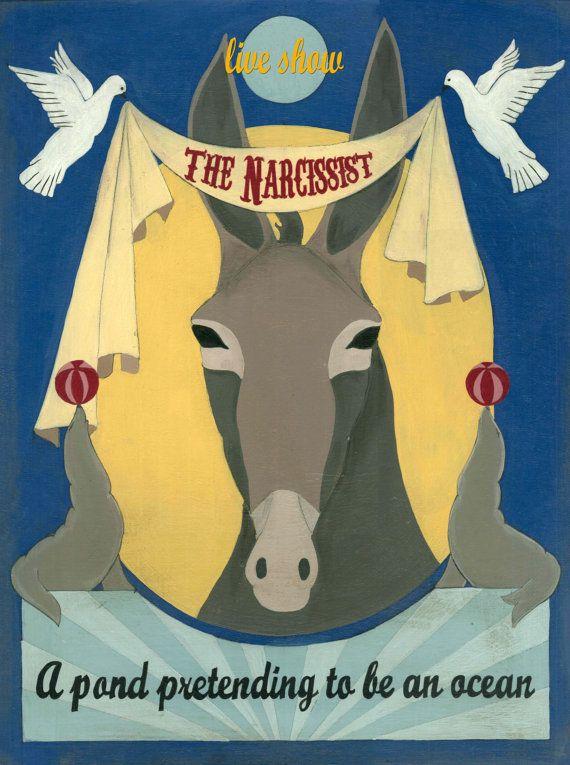 the narcissist by Virginia Diakaki