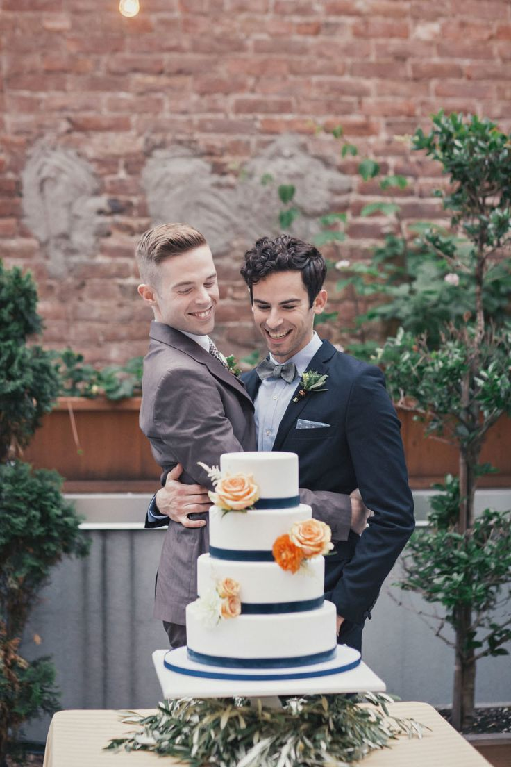 Andrew Riley & Brian Wescott's Vintage New York City Wedding (Photography…