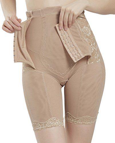 d808902e6 EachEver Women High Waist Cincher Girdle Belly Trainer Corset Body  Shapewear Ass Panty Slimming Underwear