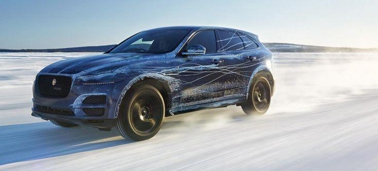 Jaguar F-Pace - nowe video i zdjęcia z pokazu testów auta. - XMOON.PL