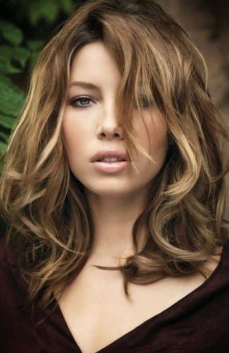 la coloration bronde de jessica biel coloration bronde jessicabiel cheveux blonde - Bronde Coloration