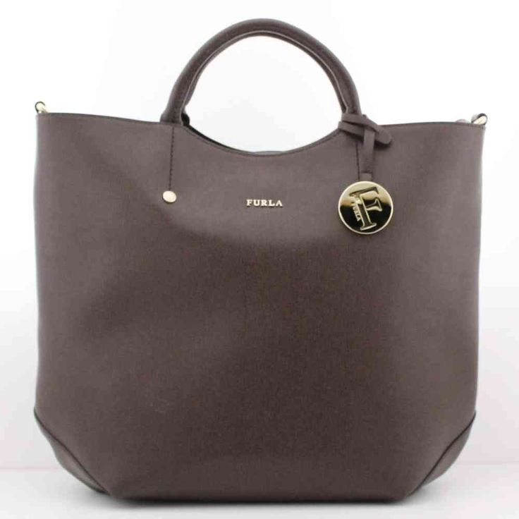 BORSA FURLA ALISSA SHOPPER NOISETTE MARRONE - 757328 - Gheri Gherardi Showroom