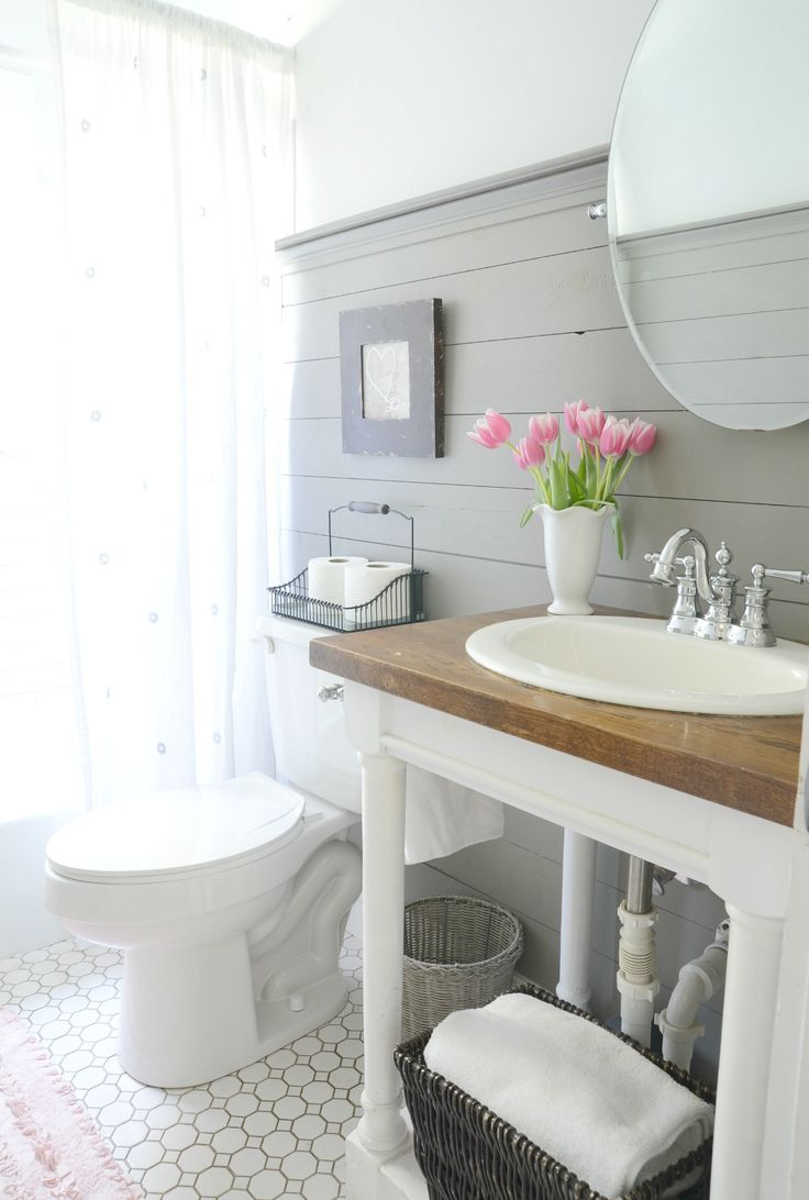 1000 images about bathroom ideas on pinterest farmhouse for Bathroom decor farmhouse