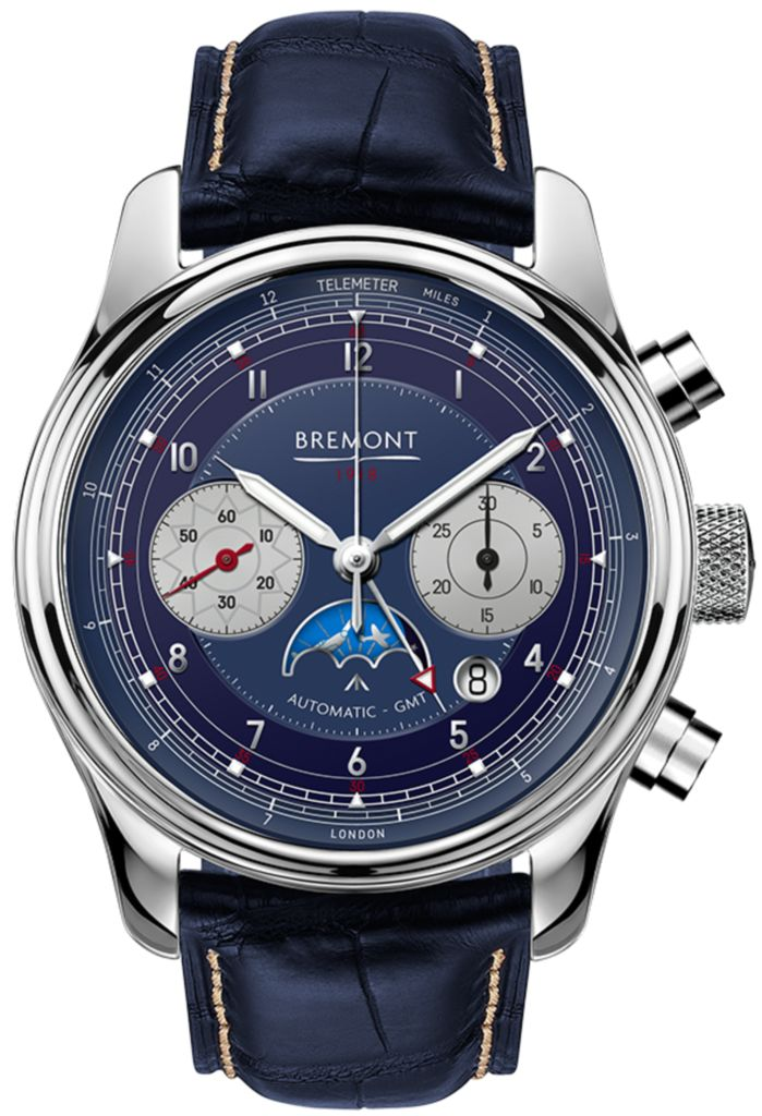 Bremont Watch 1918 White Gold Limited Edition Pre-Order #add-content #bezel-fixed #bracelet-strap-aligator #brand-bremont #case-material-white-gold #case-width-43mm #chronograph-yes #cosc-yes #date-yes #dial-colour-blue #discount-code-allow #gender-mens #gmt-yes #limited-edition-yes #luxury #movement-automatic #official-stockist-for-bremont-watches #packaging-bremont-watch-packaging #pre-order #pre-order-date-30-12-2017 #preorder-december #style-dress #subcat-1918 #supplier-model-no-1918-wg