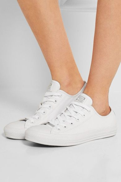 Converse | Chuck Taylor All Star leather sneakers | NET-A-PORTER.COM