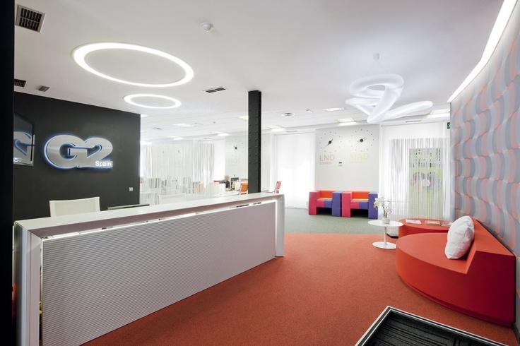 Iluminacion tecnica con luz fluorescente o led, Bubble Up. (Espacio Aretha agente exclusivo para España)