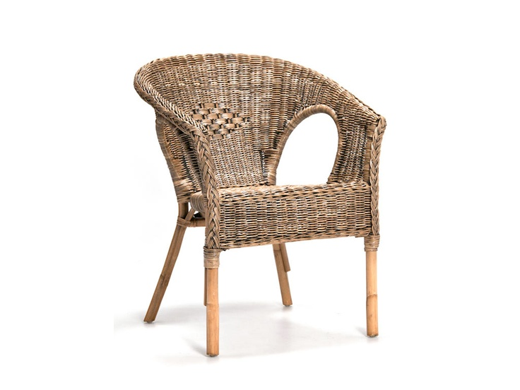Ruzi Wicker Chair Antique Wash - R500