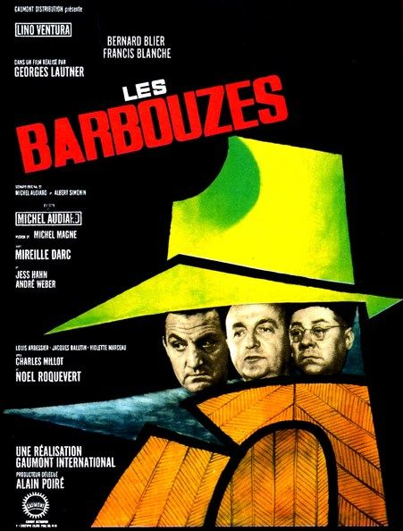 LES BARBOUZES - BOX OFFICE LINO VENTURA 1964