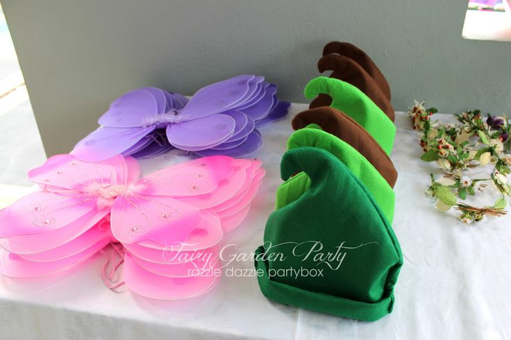 secret of the wings birthday party theme | Razzle Dazzle Party Box: Themed Birthday Party: Fairy Garden Party