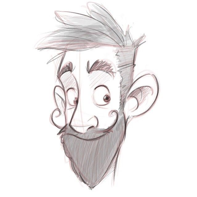 Cartoon Characters Facing Forward : Best face sketch ideas on pinterest draw faces