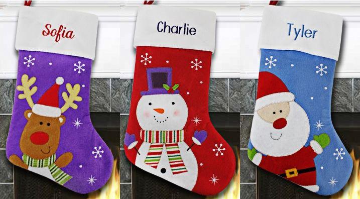 Christmas stocking idea